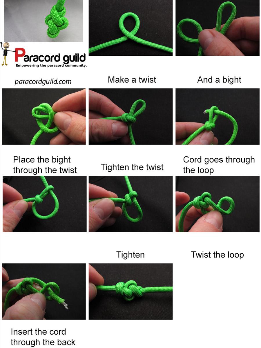 Как вязать узлы паракорд 2