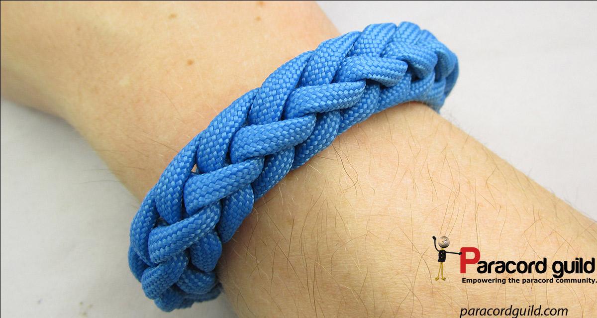 Spool knit paracord bracelet - Paracord guild
