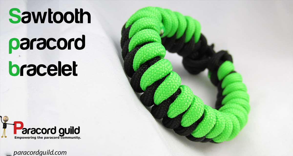 How To Make A Sawtooth Paracord Bracelet Paracord Guild