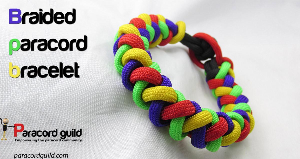 Round Braid Paracord Bracelet Paracord Guild